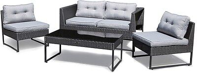 Excalibur Outdoor Living 'Maxim' 4 Piece Lounge Package