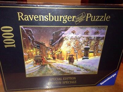Ravensburger 1000 Piece Jigsaw Puzzle *WINTER CHARM MONTREAL* Brand New & Sealed