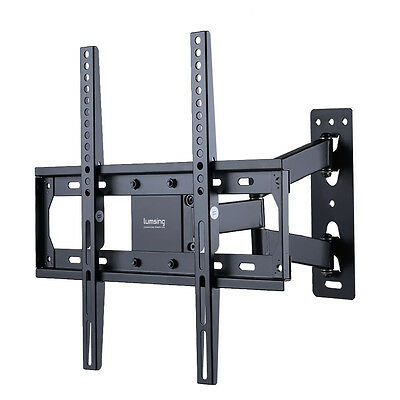 Full Motion LCD LED Plasma TV Wall Mount 42 46 47 50 55 60 65 70 for Samsung