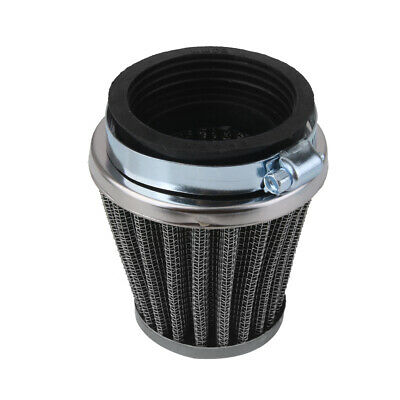 2x 50mm Air Filter POD Cleaner for Honda Yamaha Motorcycle Dirt Bike Scooter