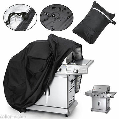 "BBQ Grill Cover 58"" Gas Barbecue Heavy Duty Waterproof Outdoor Weber GO"