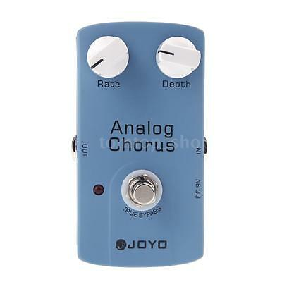 JOYO ANALOG CHORUS Electric Guitar Effect Pedal with True Bypass US New L9A0