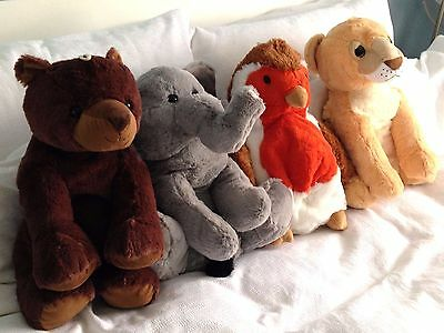 3D Hot Water Bottle Cute Cuddly Novelty Large Ideal Christmas Present - Animals