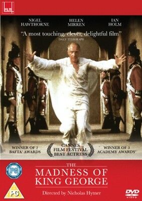 The Madness of King George DVD NEW