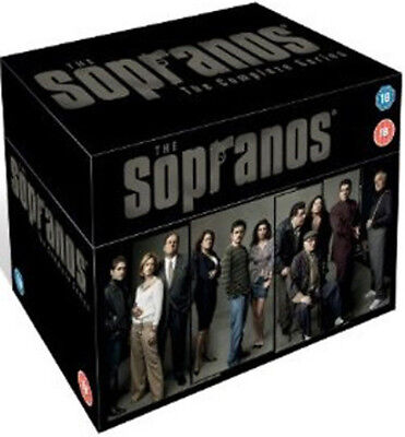 The Sopranos: The Complete Series DVD Box Set NEW