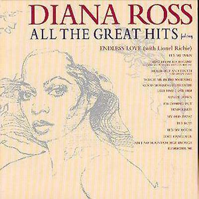Diana Ross All The Great Hits CD NEW