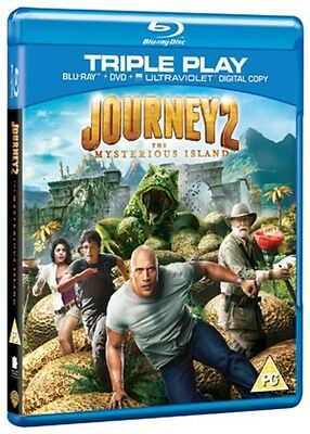Journey 2 - The Mysterious Island Bluray/DVD NEW