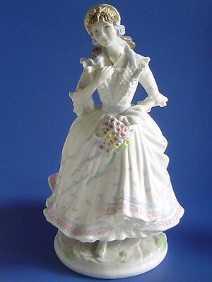 Royal Worcester Figurine VILLAGE BRIDE from the Festive Country Days Collection