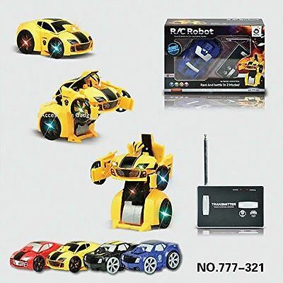 RC Radio Remote Control Transformers Car Robot
