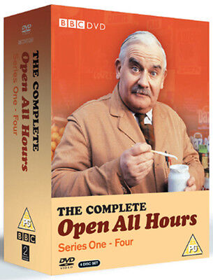 Open All Hours: The Complete Series 1-4 DVD Box Set NEW
