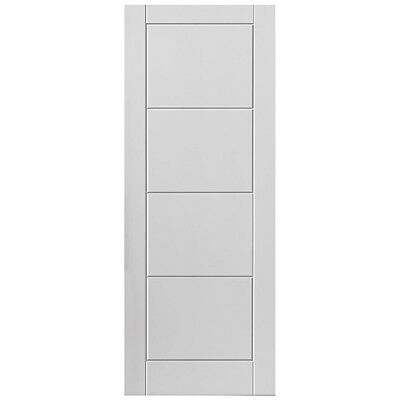 Wooden Internal Fire Door - Moulded - White - 1981 x 838 x 44mm - 33""