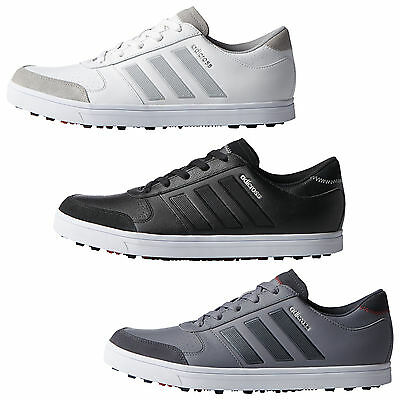 Adidas Mens Adicross Gripmore 2 Spikeless Golf Shoes - New Waterproof 2016