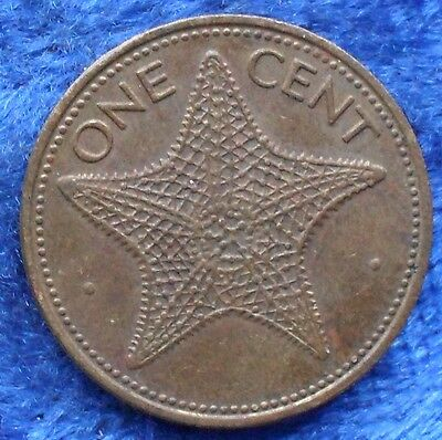 BAHAMAS - 1 cent 1980 KM# 59 independent since 1973 America - Edelweiss Coins
