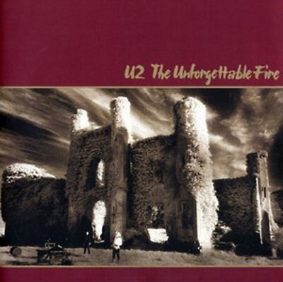 U2 The Unforgettable Fire CD NEW