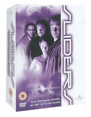Sliders: The Complete Seasons 1 and 2 DVD Box Set NEW