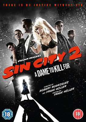 Sin City 2 - A Dame to Kill For DVD NEW
