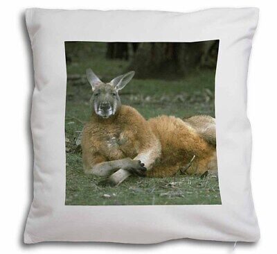 Cheeky Kangaroo Soft Velvet Feel Cushion Cover With Inner Pillow, AK-1-CPW