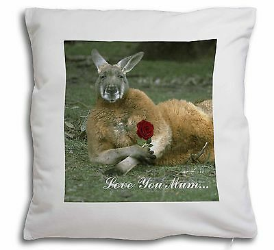 Kangaroo+Rose 'Love You Mum' Soft Velvet Feel Cushion Cover With I, AK-1Rlym-CPW