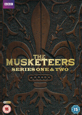 The Musketeers: Series 1 and 2 DVD Box Set NEW