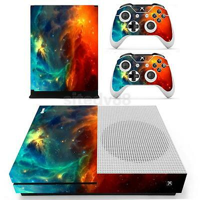 Vinyl Decal Body Skin Stickers Cover for Xbox One S Console Controller 0121