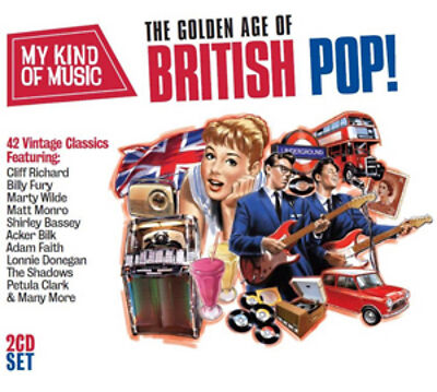 Various Artists The Golden Age of British Pop! CD NEW