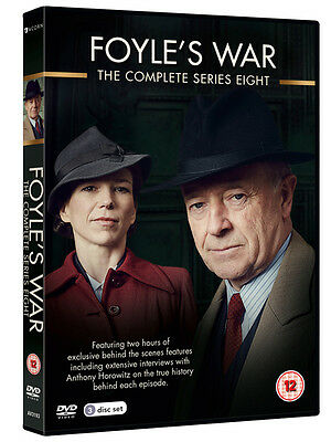 Foyle's War: The Complete Series 8 DVD NEW