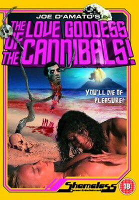 The Love Goddess of the Cannibals DVD NEW