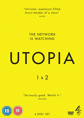 Utopia: Series 1 and 2 DVD NEW