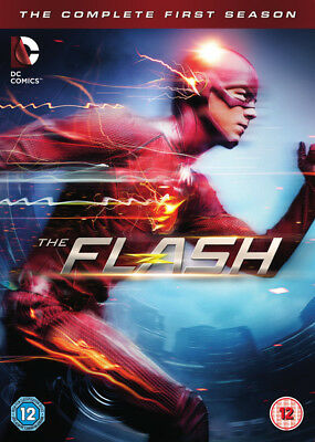 The Flash: The Complete First Season DVD Box Set NEW