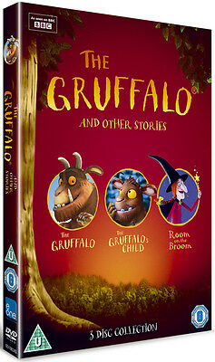 The Gruffalo and Other Stories DVD Box Set NEW
