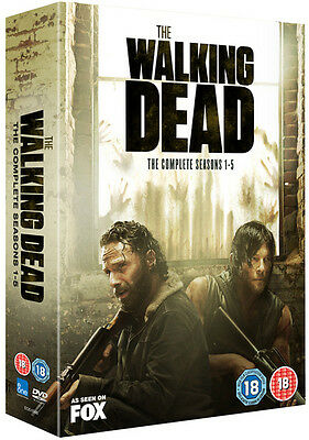 The Walking Dead: The Complete Seasons 1-5 DVD Box Set NEW