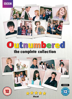 Outnumbered: Series 1-5 DVD Box Set NEW