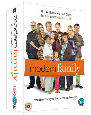 Modern Family: The Complete Seasons 1-6 DVD Box Set NEW