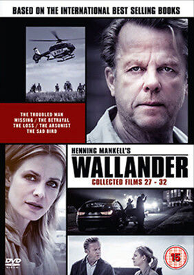 Wallander: Collected Films 27-32 DVD NEW