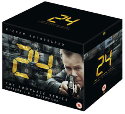 24: The Complete Series - Seasons 1-8 and Redemption DVD Box Set NEW