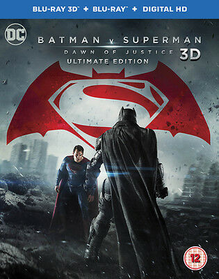 Batman V Superman - Dawn of Justice: Ultimate Edition BR32H NEW