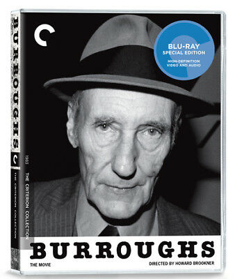 Burroughs: The Movie - The Criterion Collection Bluray Restored NEW