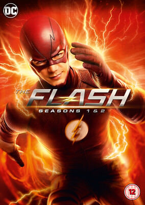 The Flash: Seasons 1-2 DVD Box Set NEW