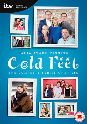 Cold Feet: The Complete Eries 1-6 DVD Box Set NEW