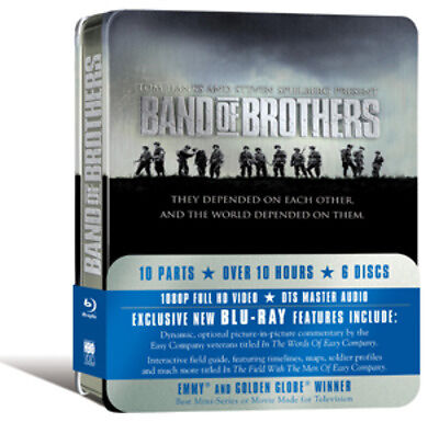 Band of Brothers Bluray Tin NEW