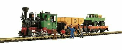 Lgb G Scale Work Train Starter Set 120V | Bn | 72403