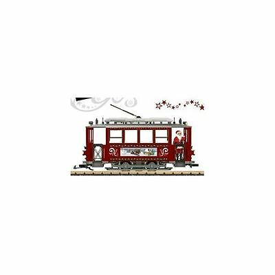 Lgb G Scale Christmas Trolley Starter Set | Bn | 72351