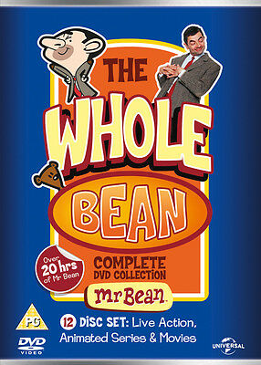 Mr Bean: The Whole Bean - Complete Collection DVD Box Set NEW
