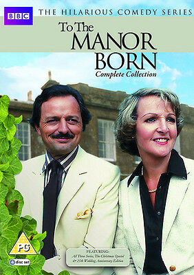 To the Manor Born: Complete Collection DVD Box Set NEW