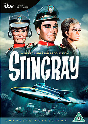 Stingray: The Complete Collection DVD Box Set NEW