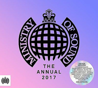THE ANNUAL 2017 (Ministry of Sound) 3 CD SET (2016)