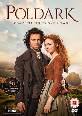 Poldark: Complete Series 1 and 2 DVD Box Set NEW