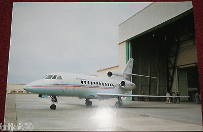 Mystere Falcon 900 Aircraft Promotional Leaflet