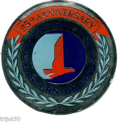 Eastern Airlines 25th Anniversary Luggage Label