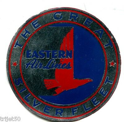 Eastern Airlines Luggage Label The Great Silver Fleet